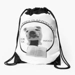 book Drawstring bag